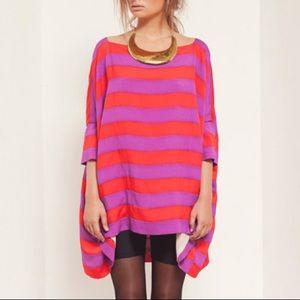 Cameo Striped Tunic Dress